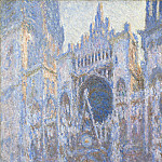 Rouen Cathedral, West Facade, Claude Oscar Monet