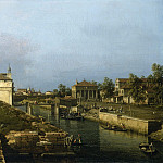 Canaletto - The Porta Portello, Padua, National Gallery of Art (Washington)