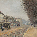 Alfred Sisley - Boulevard Heloise, Argenteuil, National Gallery of Art (Washington)