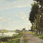 Claude Monet - Argenteuil, National Gallery of Art (Washington)