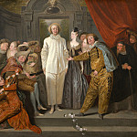 National Gallery of Art (Washington) - Antoine Watteau - The Italian Comedians