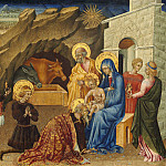 Giovanni di Paolo - The Adoration of the Magi, National Gallery of Art (Washington)