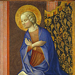 Masolino da Panicale - The Virgin Annunciate, National Gallery of Art (Washington)