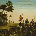 Edward Hicks – The Landing of Columbus, National Gallery of Art (Washington)