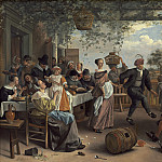 Jan Steen - The Dancing Couple, National Gallery of Art (Washington)