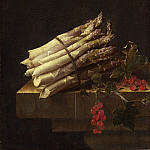 Adriaen Coorte - Still Life with Asparagus and Red Currants, National Gallery of Art (Washington)