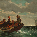 Breezing Up (), Winslow Homer
