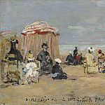On the Beach, Eugene Boudin