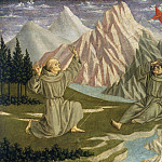 Domenico Veneziano - Saint Francis Receiving the Stigmata, National Gallery of Art (Washington)