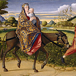 National Gallery of Art (Washington) - Vittore Carpaccio - The Flight into Egypt