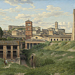View of the Cloaca Maxima, Rome, Christoffer Wilhelm Eckersberg