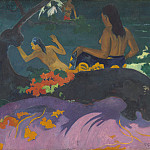 Paul Gauguin - Fatata te Miti , National Gallery of Art (Washington)