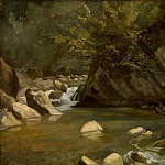 National Gallery of Art (Washington) - Paul Huet - Woodland Stream