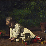 National Gallery of Art (Washington) - Thomas Eakins - Baby at Play