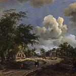 Meindert Hobbema – A View on a High Road, National Gallery of Art (Washington)