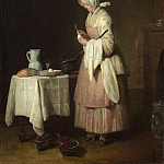 Jean Simeon Chardin - The Attentive Nurse, National Gallery of Art (Washington)
