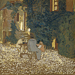 Edouard Vuillard - Repast in a Garden, National Gallery of Art (Washington)