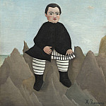 Boy on the Rocks, Henri Rousseau