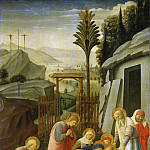 National Gallery of Art (Washington) - Attributed to Fra Angelico - The Entombment of Christ