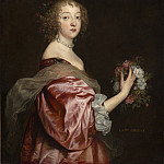 National Gallery of Art (Washington) - Sir Anthony van Dyck - Catherine Howard, Lady d'Aubigny