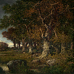 Narcisse Diaz de la Pena – The Edge of the Forest at Les Monts-Girard, Fontainebleau, National Gallery of Art (Washington)