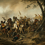 National Gallery of Art (Washington) - Philips Wouwerman - Battle Scene