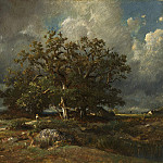 Jules Dupre - The Old Oak, National Gallery of Art (Washington)