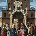Bernard van Orley - The Marriage of the Virgin, National Gallery of Art (Washington)