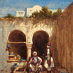 Louis Tesson - Arab Market, National Gallery of Art (Washington)