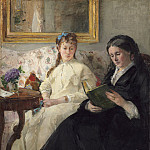 Berthe Morisot - The Mother and Sister of the Artist, National Gallery of Art (Washington)