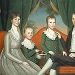 National Gallery of Art (Washington) - Ralph Eleaser Whiteside Earl - Family Portrait