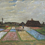 Vincent van Gogh - Flower Beds in Holland, National Gallery of Art (Washington)