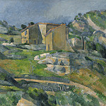 Houses in Provence: The Riaux Valley near L'Estaque, Paul Cezanne