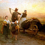 Salmson Hugo Federick Return From The Fields, Hugo Federick Salmson