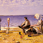 Jansson Eugene Boys On The Beach, Swedish artist