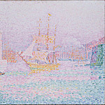 Signac, Paul – The Harbour at Marseilles, part 14 Hermitage