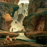 part 14 Hermitage - Robert, Hubert - Landscape with a Waterfall
