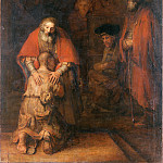 Rembrandt Harmensz. van Rijn – The Return of the Prodigal Son, part 14 Hermitage
