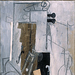 Picasso, Pablo – Clarinet and Violin, part 14 Hermitage