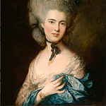 Gainsborough, Thomas – A Woman in Blue, part 14 Hermitage