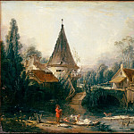 part 14 Hermitage - Boucher, Francois - Landscape Near Beauvais