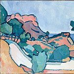 part 14 Hermitage - Derain, Andre - Road in the Mountains