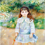 Renoir, Pierre-Auguste – Child with a Whip, part 14 Hermitage