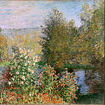 Corner of the Garden at Montgeron, Claude Oscar Monet