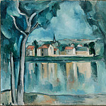 part 14 Hermitage - Vlaminck, Maurice de - Town on the Bank of a Lake