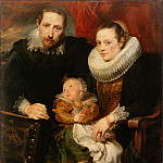 part 14 Hermitage - Dyck, Anthony van - Family Portrait