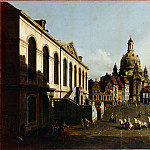 Bellotto, Bernardo – Neumarkt in Dresden, part 14 Hermitage