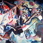 Kandinsky, Vasily – Composition VI, part 14 Hermitage