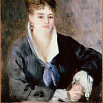 part 14 Hermitage - Renoir, Pierre-Auguste - Woman in Black