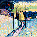 Kandinsky, Vasily – Winter Landscape, part 14 Hermitage